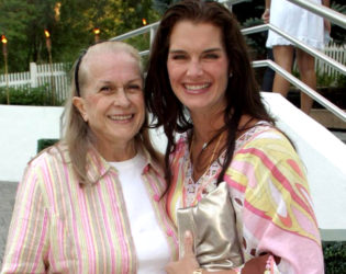 Brooke Shields And Mother
