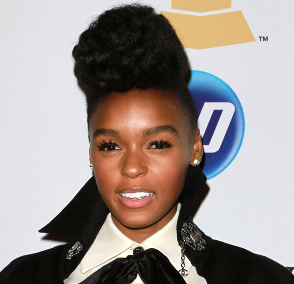 Janelle Monáe Natural Hair
