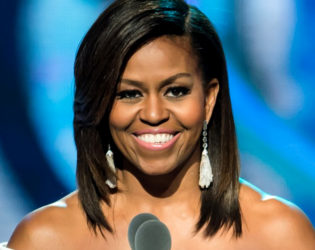 Michelle Obama Does Her Own Makeup
