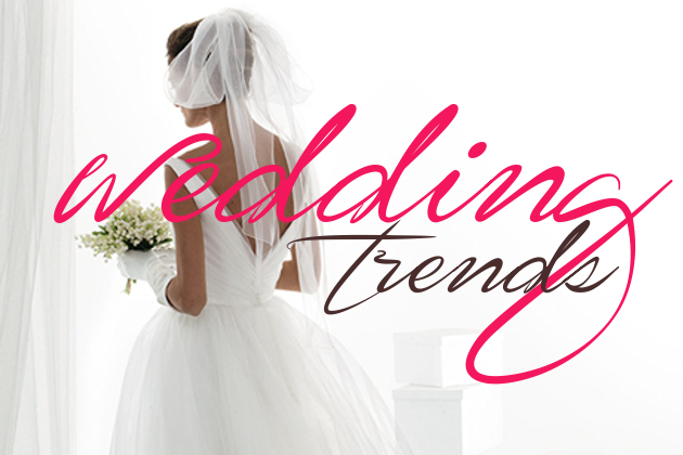 Wedding and Bridal Trends in 2015