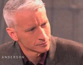 Anderson Cooper Crying