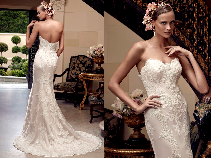 Bridal Lace Gown 2015 Trends