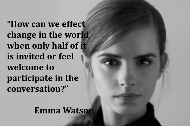 Celebrity Feminists: From Emma Watson to Oprah