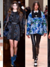 Florals Fall 2015 Trends Paris Fashion Week