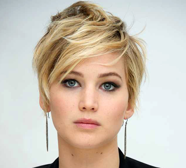 Pictures All Time Best Celebrity Pixie Cuts Jennifer Lawrence Pixie Haircut