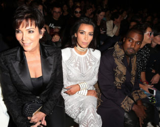 Kim Kardashian Living With Kris Jenner