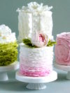 Ruffled Cakes Wedding Trends 2105