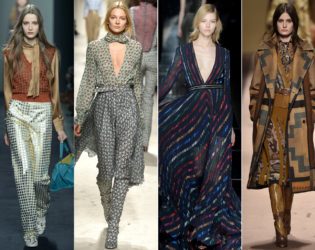Seventies Style Fall 2015 Trends Milan Fashion Week