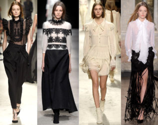 Victorian Inspired Fall 2015 Trends Milan Fashion Week
