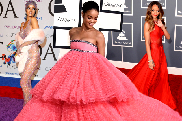 10 Times Rihanna Slayed the Red Carpet