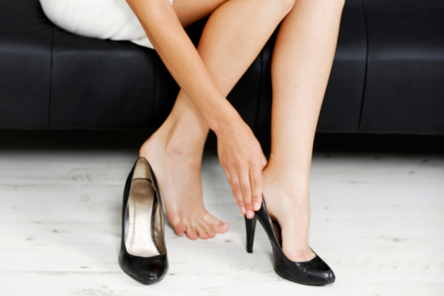 Foot Problems Caused By High Heels