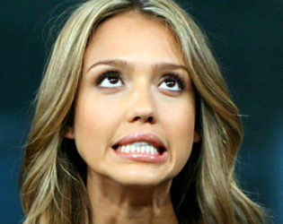 Jessica Alba Layering Chemical Deodorant Over A Natural One