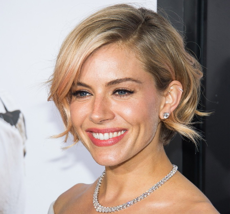 Sienna Miller Ketchup For The Perfect Shade Of Blonde