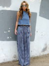 Crop Top With Palazzo Pants