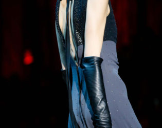 Elbow Gloves Trend Fall 2015