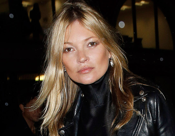 Kate Moss Does Her Own Hair