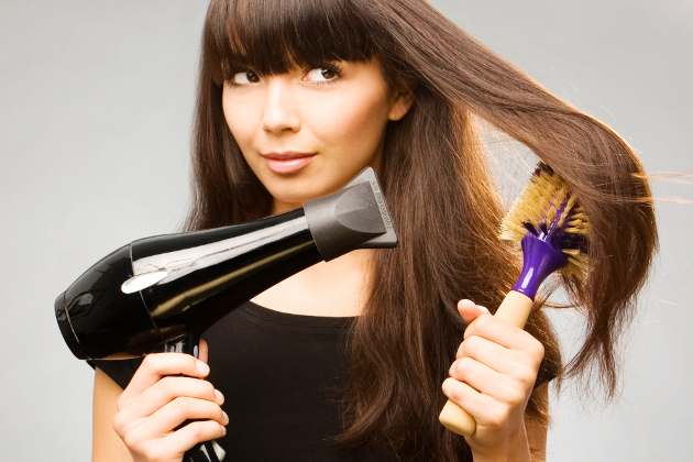 How To Blow Dry With Round Brush
