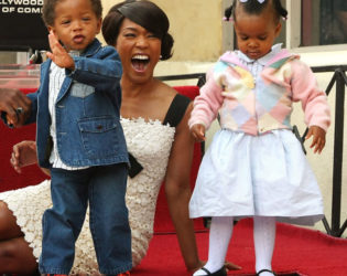 Angela Bassett Surrogate Twins