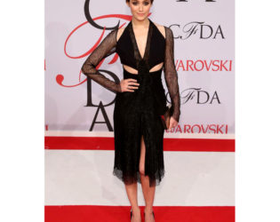 Emmy Rossum 2015 Cfda Fashion Awards