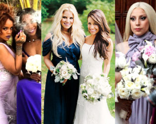 Celebrity Bridesmaids Who Totally Upstaged the Brides!