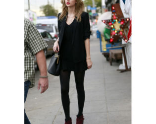 Taylor Swift Boxy Outfit