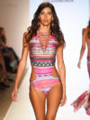 Tribal Print Swimwear Cia Maritima Summer 2015 2016