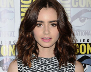Lily Collins Born Abroad