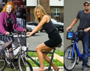 Celebrities Who Love Cycling