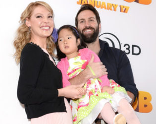 Katherine Heigl Adopted Daughter