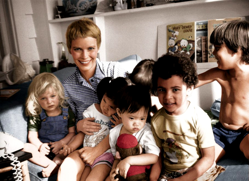 Mia Farrow Adopted Children