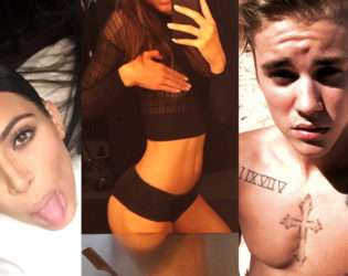 Celebrities Who Take the Most Selfies