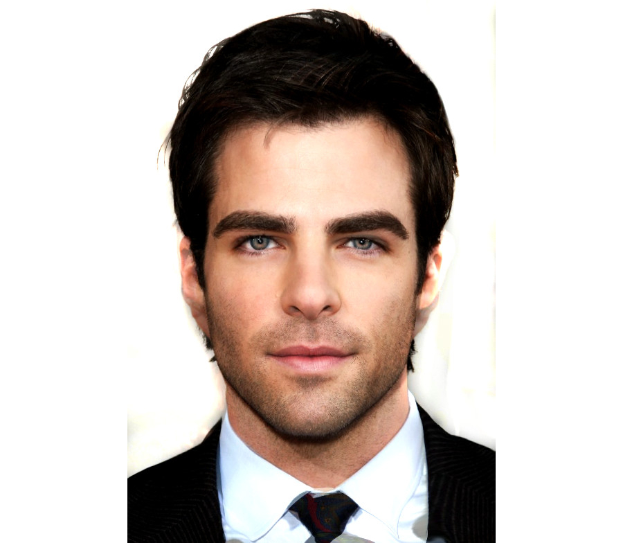 Chris Pine And Zachary Quinto Face Mashup