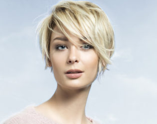 Choppy Short Bob To Look Younger