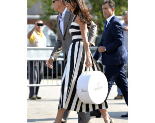 Amal Clooney The Venice Arrival
