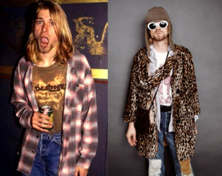 Kurt Cobain Flannel Shirt