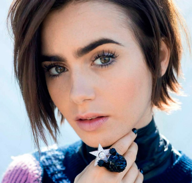 Lilly Collins Best Celebrity Eyebrows
