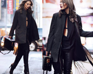 Winter Style All Black