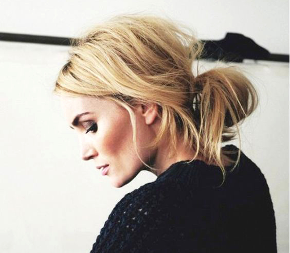 Pleasant Pictures 10 Quick Hairstyles For Unwashed Hair Messy Bun For Natural Hairstyles Runnerswayorg