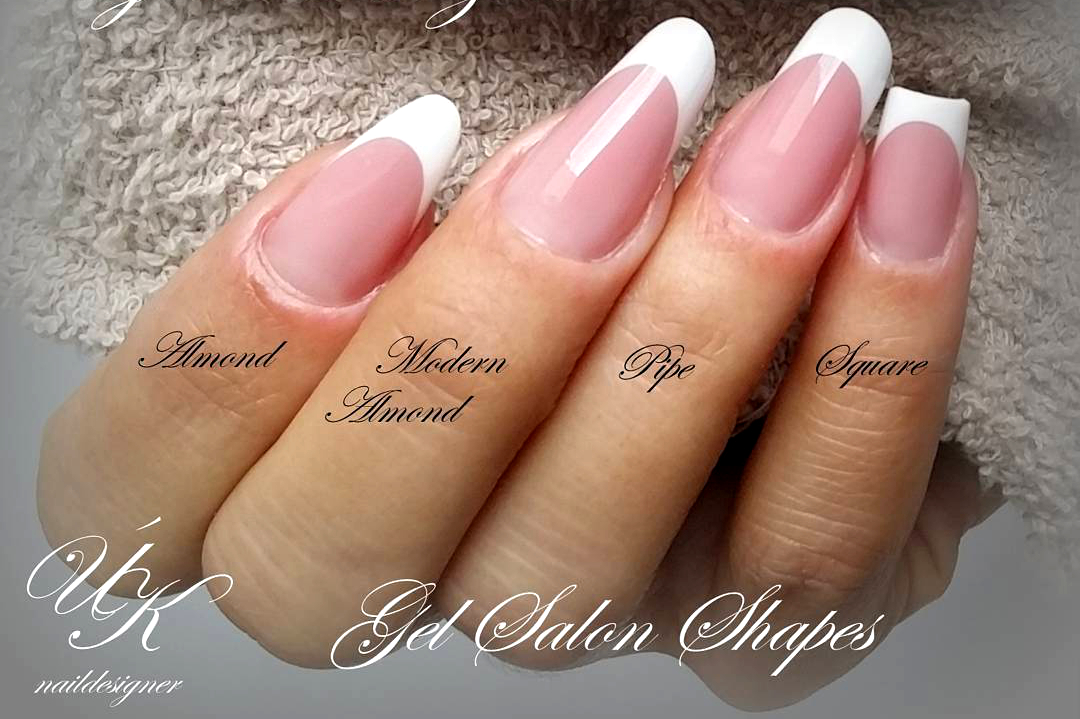 Different Gel Nails Shapes