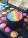 Homemade Rainbow Highlighter