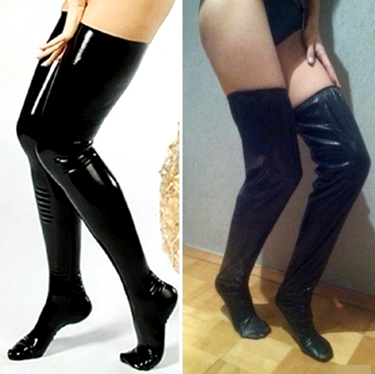 Online Shopping Latex Stockings