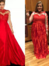 Red Gown Fail