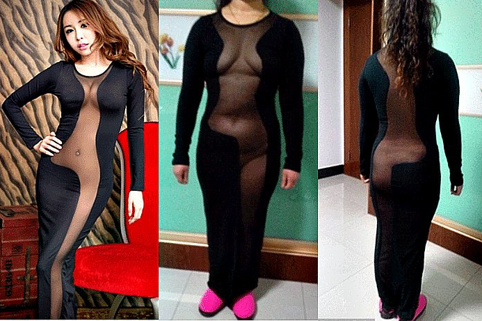 See Through Dress Shopping Fail