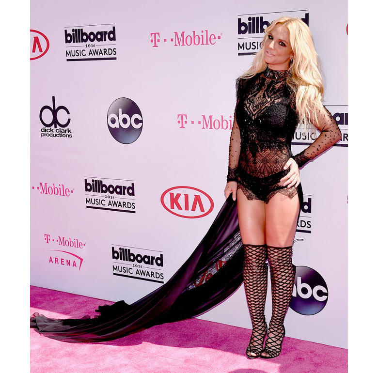 Britney Spears Outfit 2016 Billboard Awards