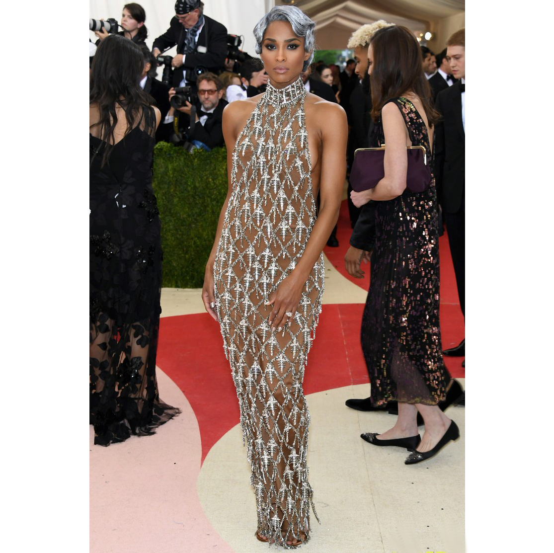 Ciara 2016 Met Gala Dress