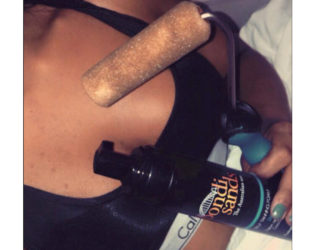 Fake Tan With Paint Roller