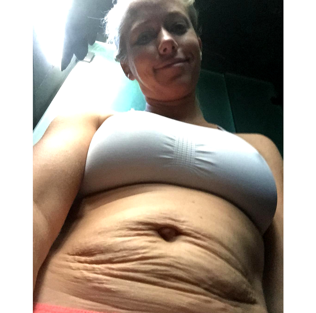 Kendra Wilkin Real Celebrity Post Baby Body
