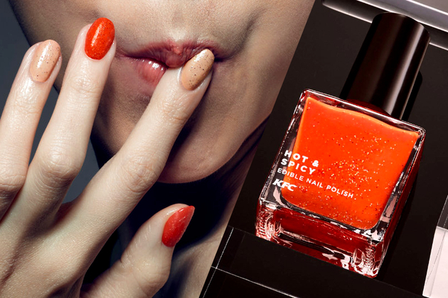 Finger Nail Lickin' Good: KFC Launches Edible Nail Polish