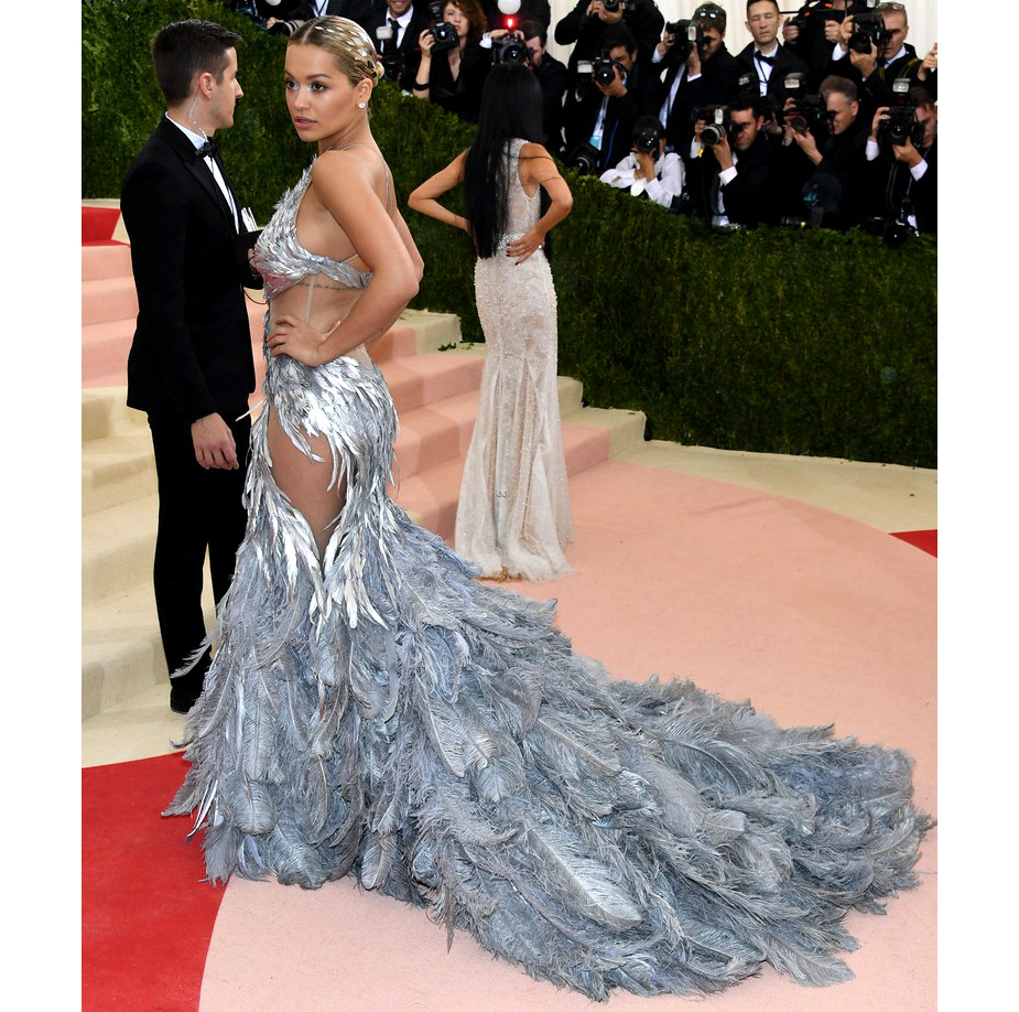 Rita Ora 2016 Met Gala Dress