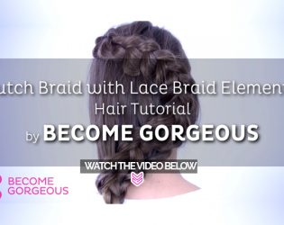 Dutch Braid with Lace Braid Elements This spectacular Dutch braid with lace elements will surely raise some serious hair envy! Watch the tutorial to learn how to do it!